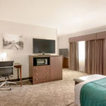one king bed suite amenities
