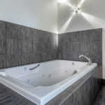 jetted tub in guest room